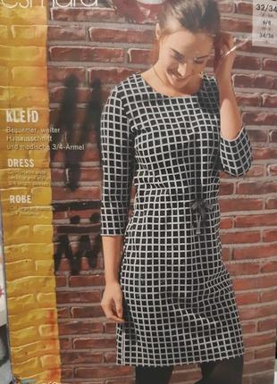 Трикотажное платье esmara  германия р. xs 32 - 34 европ.