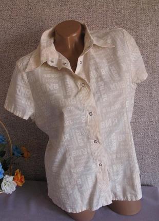 Блуза / рубашка на кнопках размер eur 42-44