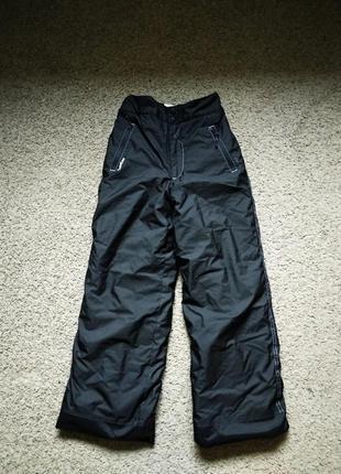 Лыжные зимние термо брюки штаны wedze размер 146-152
