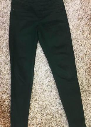 Штани темно-зелені