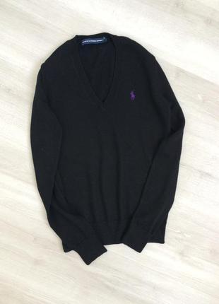 Шерстяной свитер пуловер джемпер шерсть мериноса ralph lauren