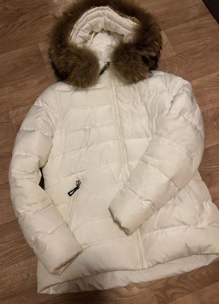 Фирменная куртка курточка пуховик зимняя супер качество