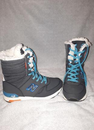 Зимові чоботи бренду new balace!