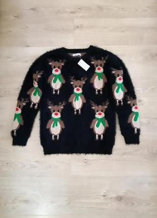Новый зимний свитер nutmeg размер s-m