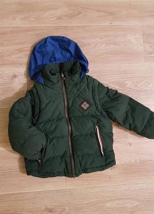 Зимняя куртка timberland 3-4годика
