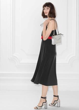 Новое платье миди с воланом 1+1=3