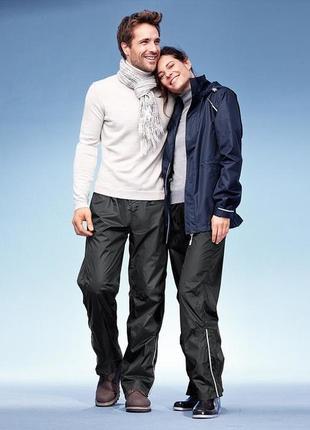 Дождевые спортивные штаники для него! tcm, tchibo, размер xl 56-58 р-р