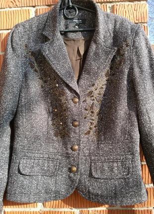 Пиджак с камнями claire.dk