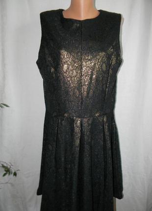 Нарядное кружевное блестящее платье next tall