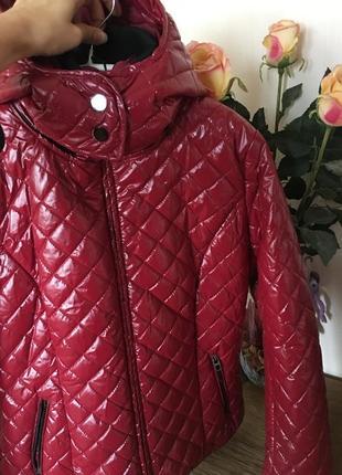 Стильная стёганная куртка осень-зима /gate woman/размер l