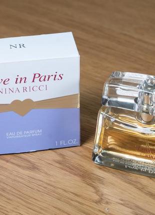 Nina ricci love in paris 30 ml