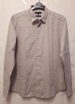 Рубашка, 48-50, хлопок, autograph, m&s