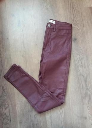 Шикарні штани з напиленям під шкіру tally weijl