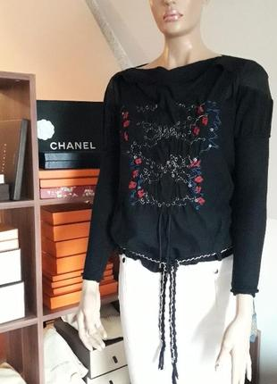 Блуза marithe+francois girbaud! италия! оригинал!
