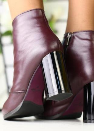 Lux обувь! шикарного качества деми ботинки ботильоны сапоги
