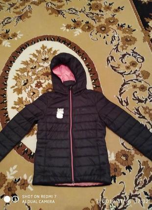 Курточка на девочку рост 146-152см(весна,осень)