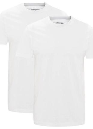 Мужская базовая футболка manguun германия р. l,xl