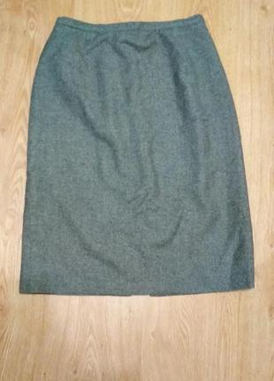 Фирменная, итальянская, шерстяная юбка