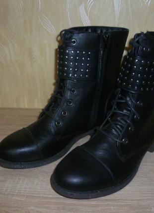 Демисезонные ботинки tally weijl (талли вейл) 41р.
