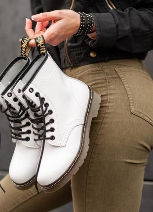 Ботинки женские dr. martens топ качество