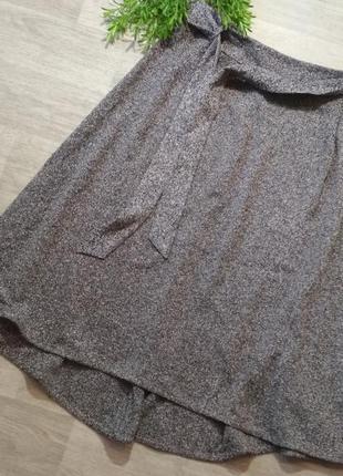 Ассиметричная длинная юбка marks&spenser