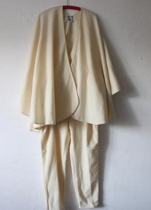 Теплейший костюм 80% шерсть cristina chiti италия