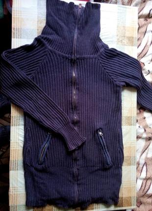 Модный свитер кофта туника gina tricot