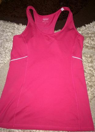 Розовая майка для занятий спортом