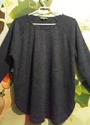 Реглан свитер джемпер оверсайз на 50 р