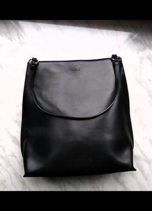 Furla, кожаная сумка, италия, оригинал