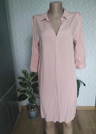 Платье рубашка р-р 48