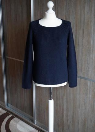 Donna effe теплый шерстяной свитер. размер м