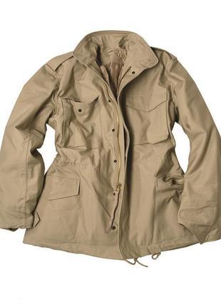 Куртка милитари m-65 mil tec с утепляющей подстежкой.