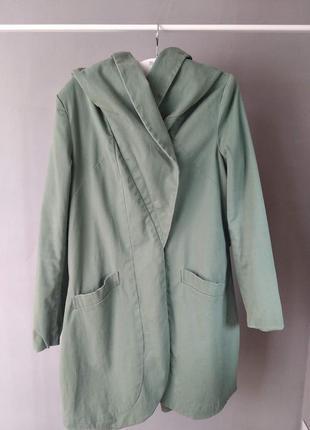 Очень стильное пальто mint & berry