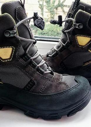 Зимние сапоги, ботинки ecco с системой gore-tex