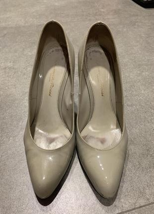 Туфли лаковые gianvito rossi
