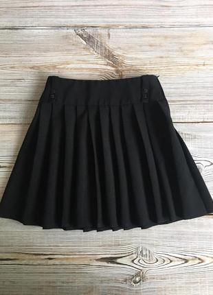 Черная юбка f&f 8-9лет