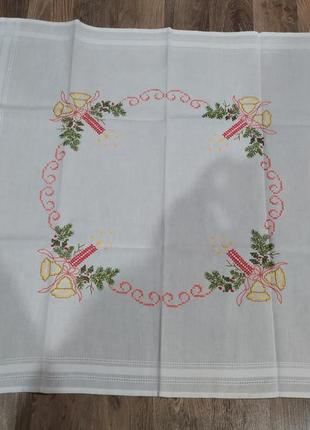 Рождественская скатерть