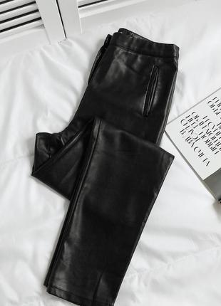 Роскошные кожаные брюки missguided