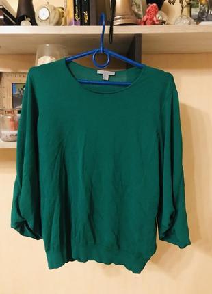 Крутой свитер (блузка) с оригинальными рукавами cos