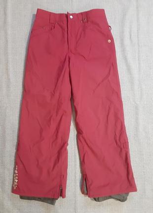 Гірськолижні горнолижні штани горнолыжные штаны burton