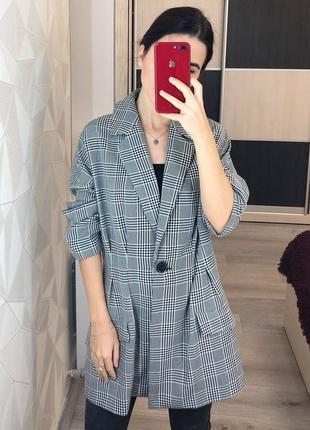 Удлинённый пиджак asos оверсайз размера