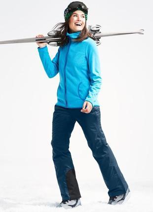Женские лыжные брюки thinsulate ™tchibo  sports размер 42 евро наш 48