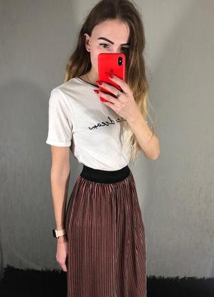 🌿 велюровая миди юбка от sleek chic