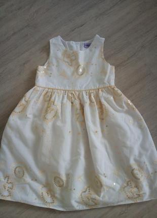 Нарядное платье cherokee на 2-3 года