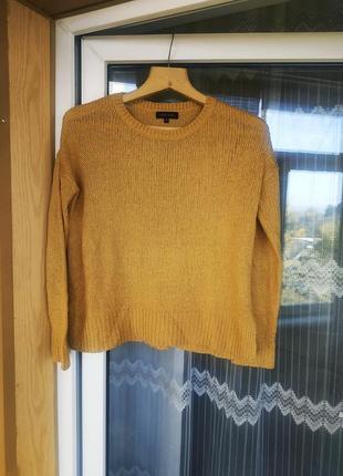 Теплый вязаный свитер 🍁
