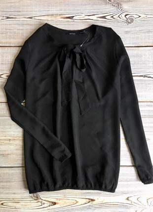 Черная блуза esmara р.m-l