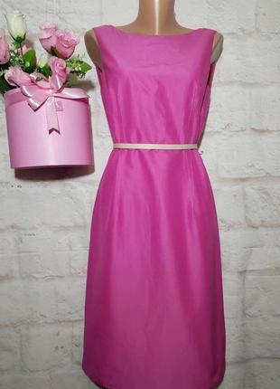 Платье миди новое  коттон и натуральный шелк р м от line