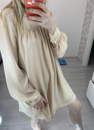 Воздушное коктейльное платье