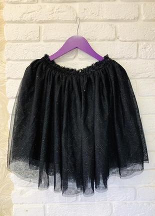 Фатиновая юбка h&m на девочку 10-12 лет